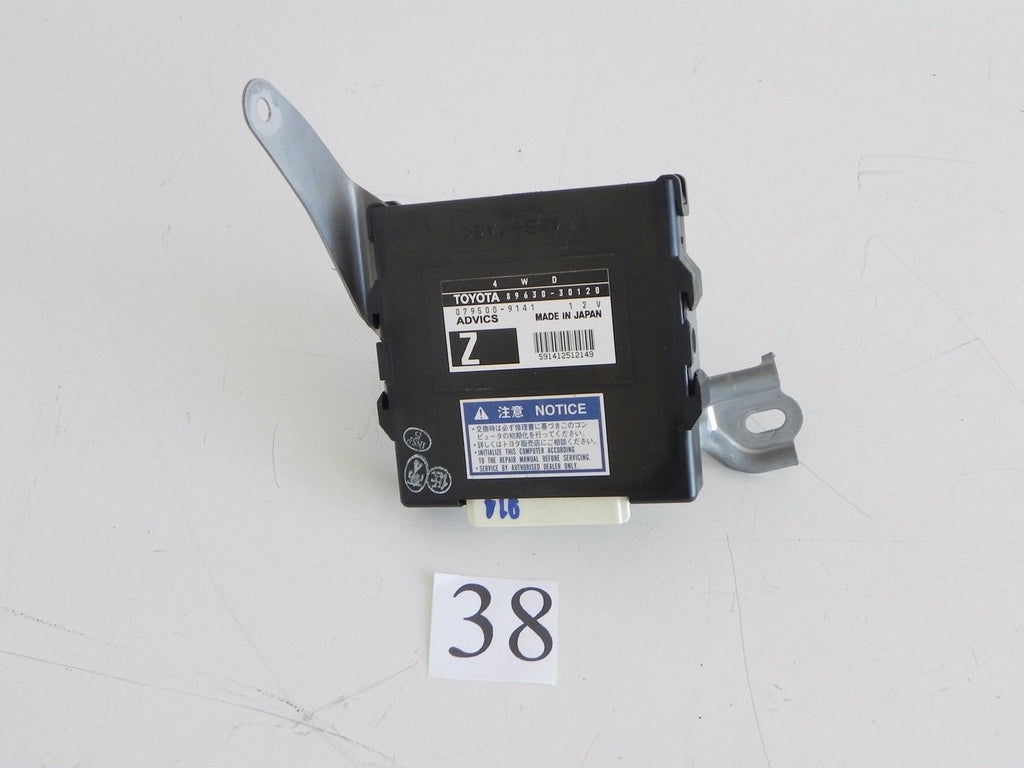 2006 LEXUS GS300 AWD TRANSFER CASE CONTROL COMPUTER ECM 89630-30120 OEM 178 #38 - Advancebay, Inc.