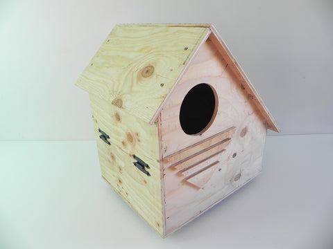 NEW OWL NESTING BOX SHELTER HOUSE BARN OWL U.S.A. MADE SCREECH OWL BURROWING OWL