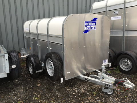 Ifor Williams P8G4 Livestock Trailer E456