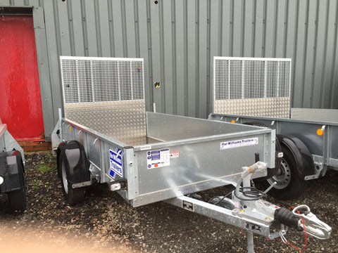 Ifor Williams GD84G  with Ramp E527