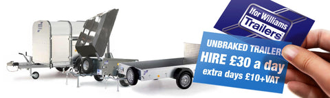 Ifor Williams Unbraked Trailers / Camping Trailers