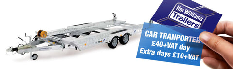 Ifor Williams CT136HD Car Transportor Trailer