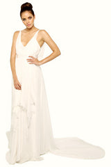 Melissa Kritsotakis Silk Goddess Bridal Dress