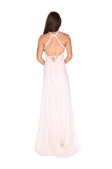 White Empress Plaited gown