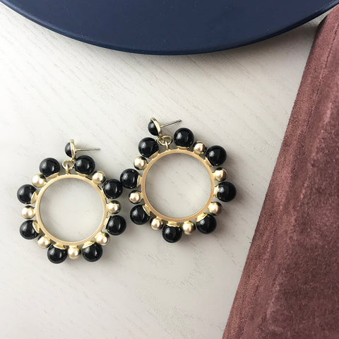 FRANCIS EARRING - BLACK