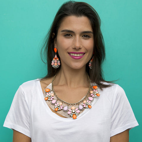 CICI NECKLACE - PINK