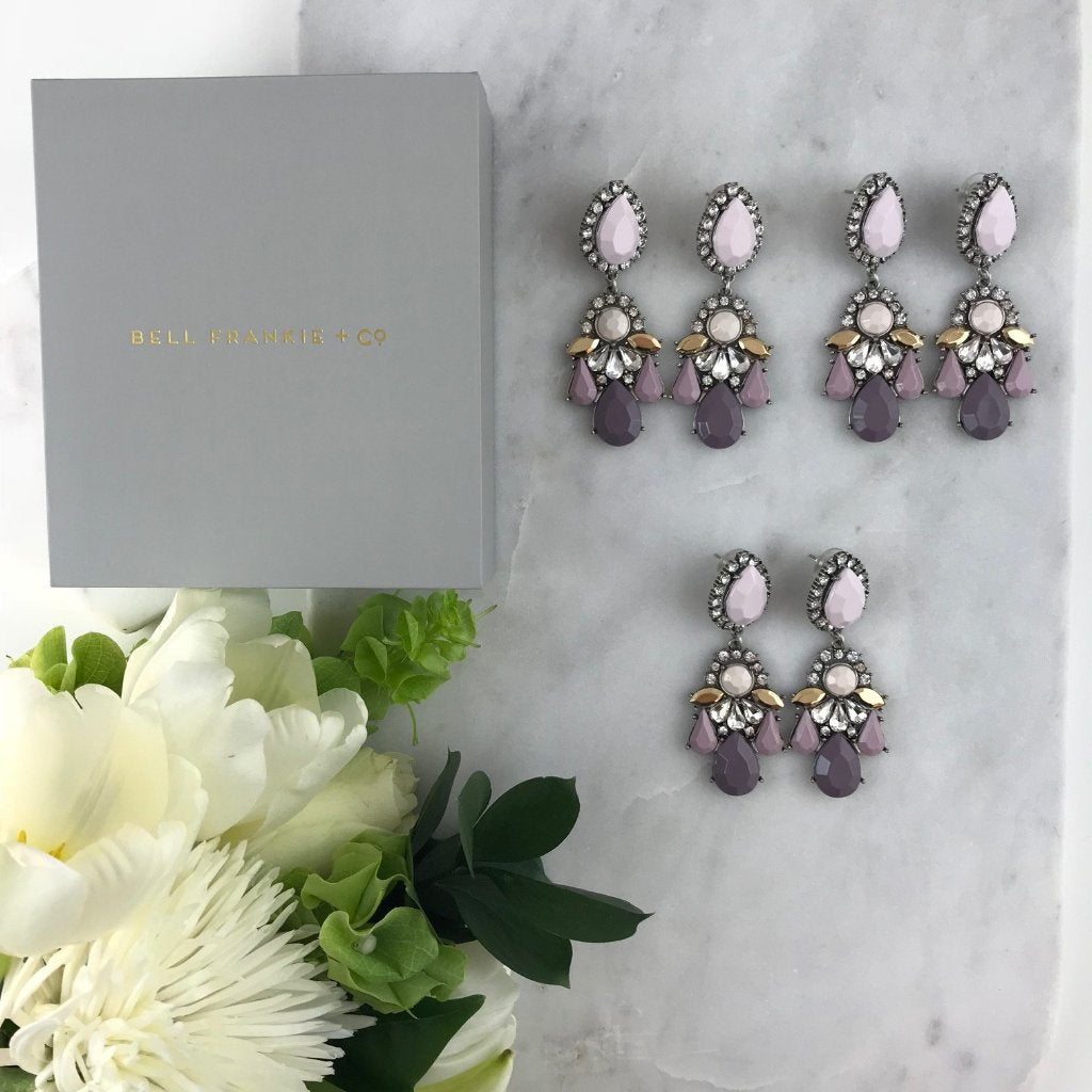 WEDDING PACK- GIGI DUSTY MAUVE X 3 PAIRS