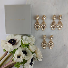 WEDDING PACK- GIGI GOLD X 3 PAIRS