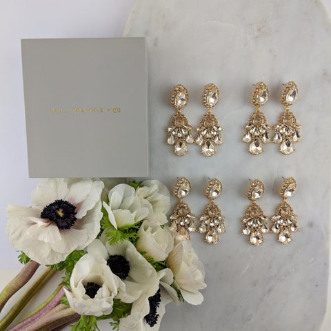 WEDDING PACK- GIGI GOLD X 4 PAIRS