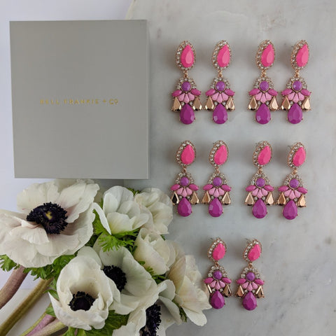WEDDING PACK- GIGI MAGENTA X 5