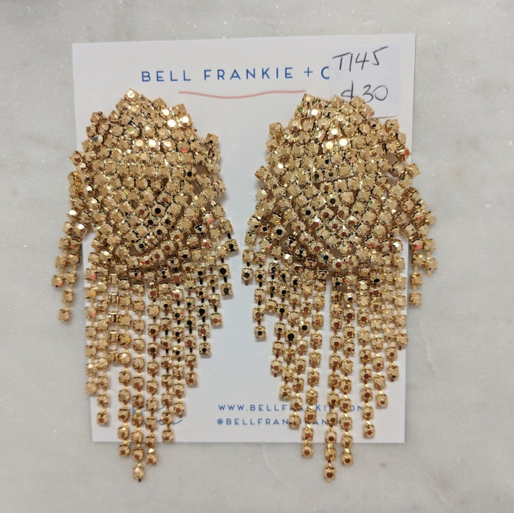 Glamazon Earring- Gold