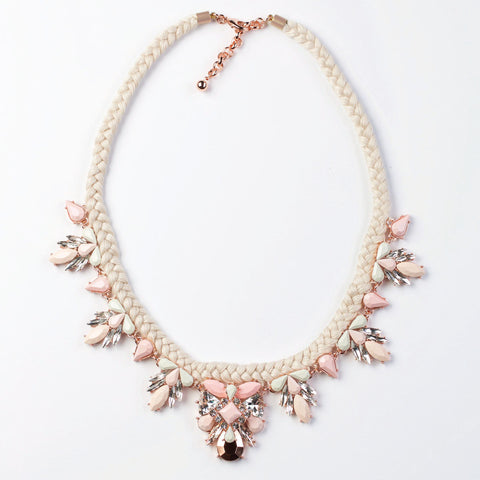 GRACE NECKLACE - BLUSH