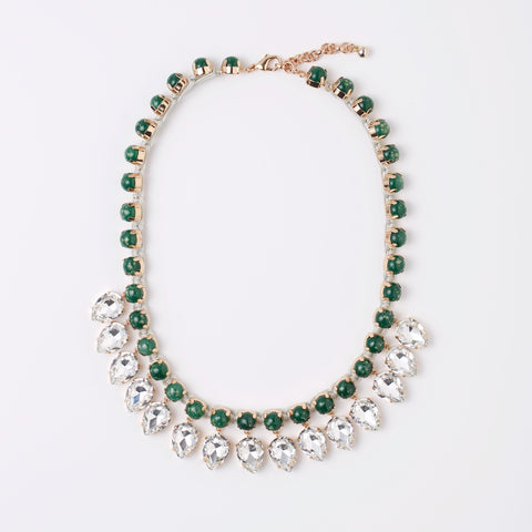 VIOLET NECKLACE- JADE