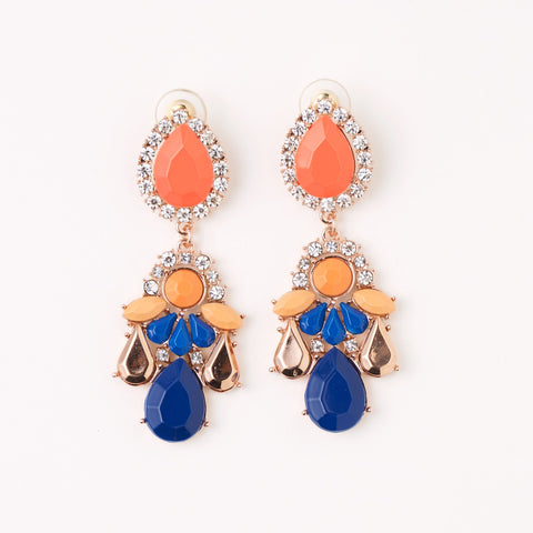GIGI EARRING- ORANGE