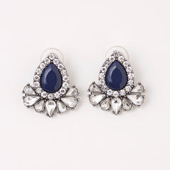 AVERY EARRING- NAVY