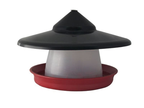 Poultry Feeder 1.5kg with Hat
