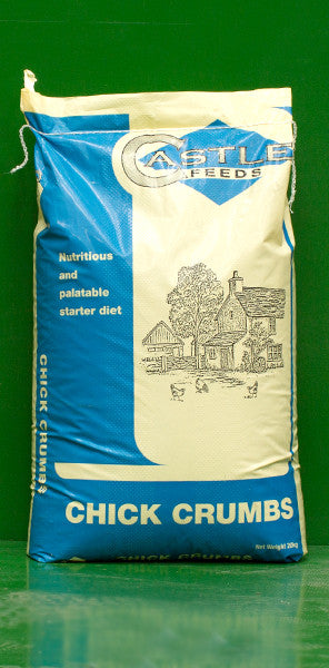 Castle Chick Crumbs - 20kg