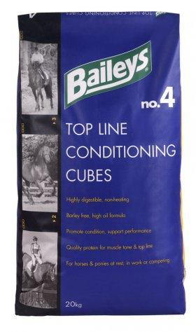 Baileys No 4 Top Line Conditioning Cubes.