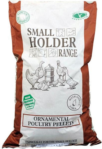 Allen & Page Small Holder Range Ornamental Poultry Feed - 20kg