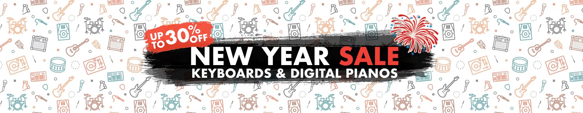 New Year Keyboards & Digital Pianos