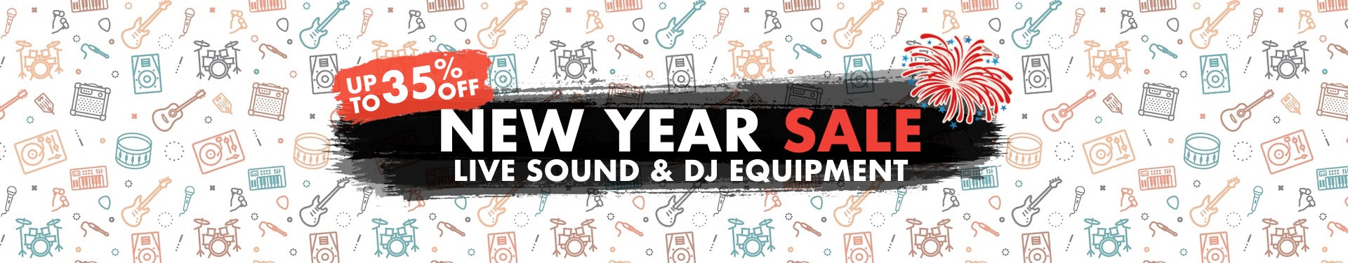 New Year Live Sound & DJ Equipment