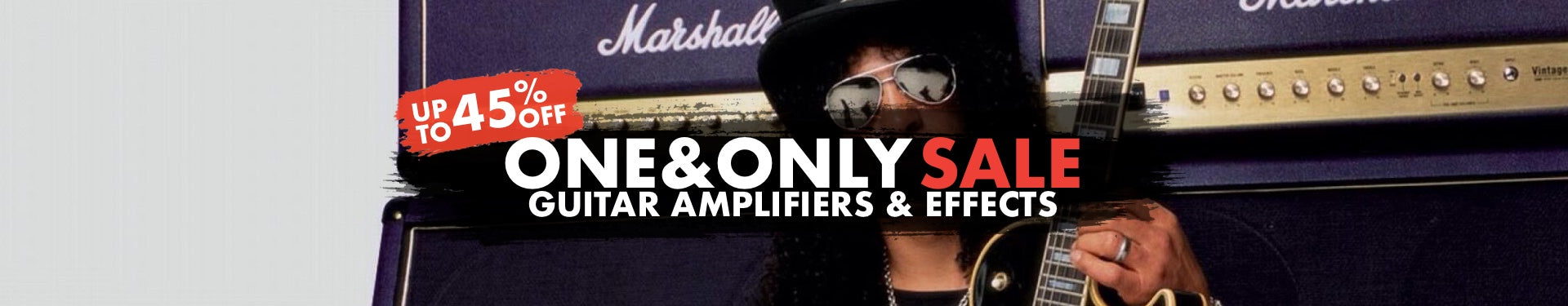 One & Only Amplifiers & Effects Sale