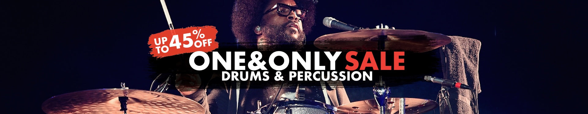 One & Only Drums & Percussion Sale