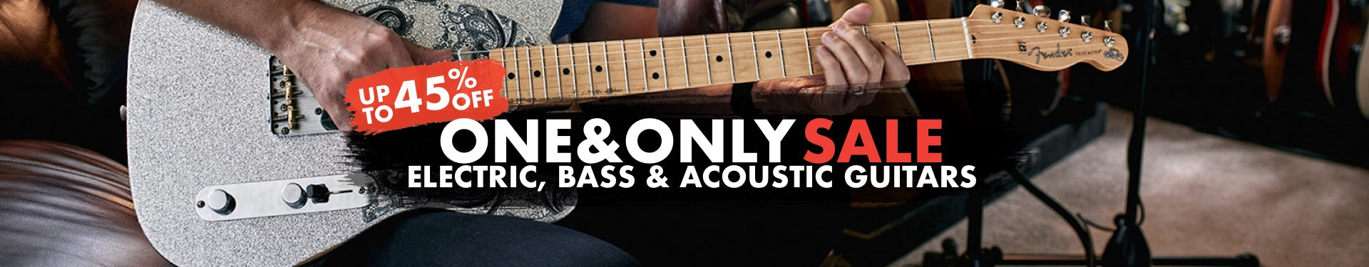 One & Only Guitar Sale