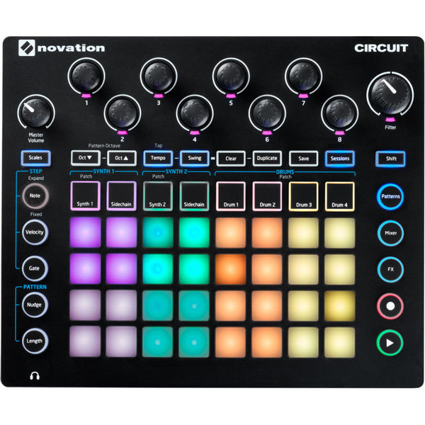 Novation Circuit Groovebox | Music Experience | Shop Online | South Africa