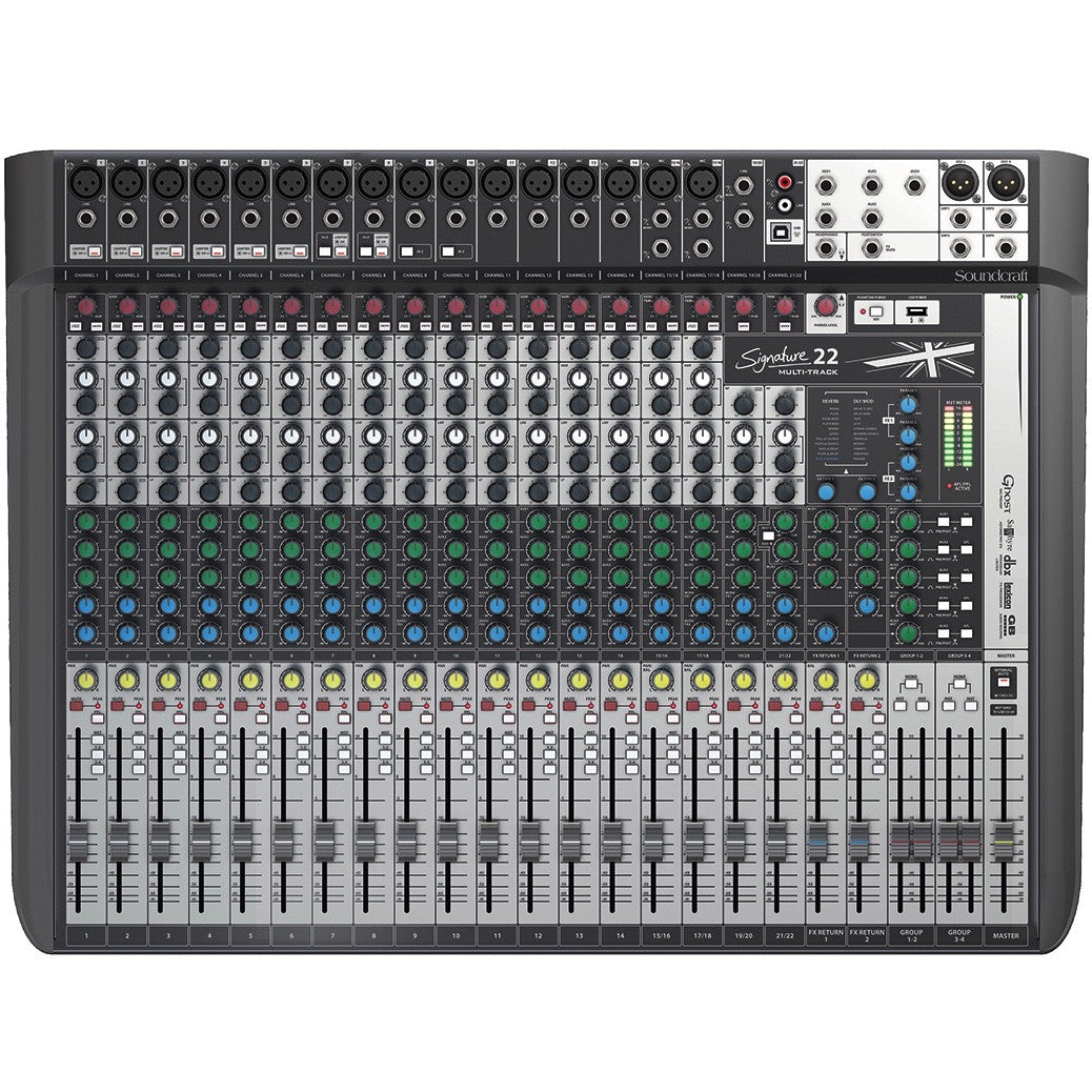 Soundcraft Signature 22 MTK Analog Mixing Console | Music Experience | Shop Online | South Africa