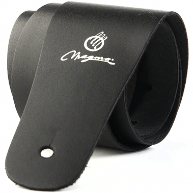 Magma MB01 Plain Black Leather Strap