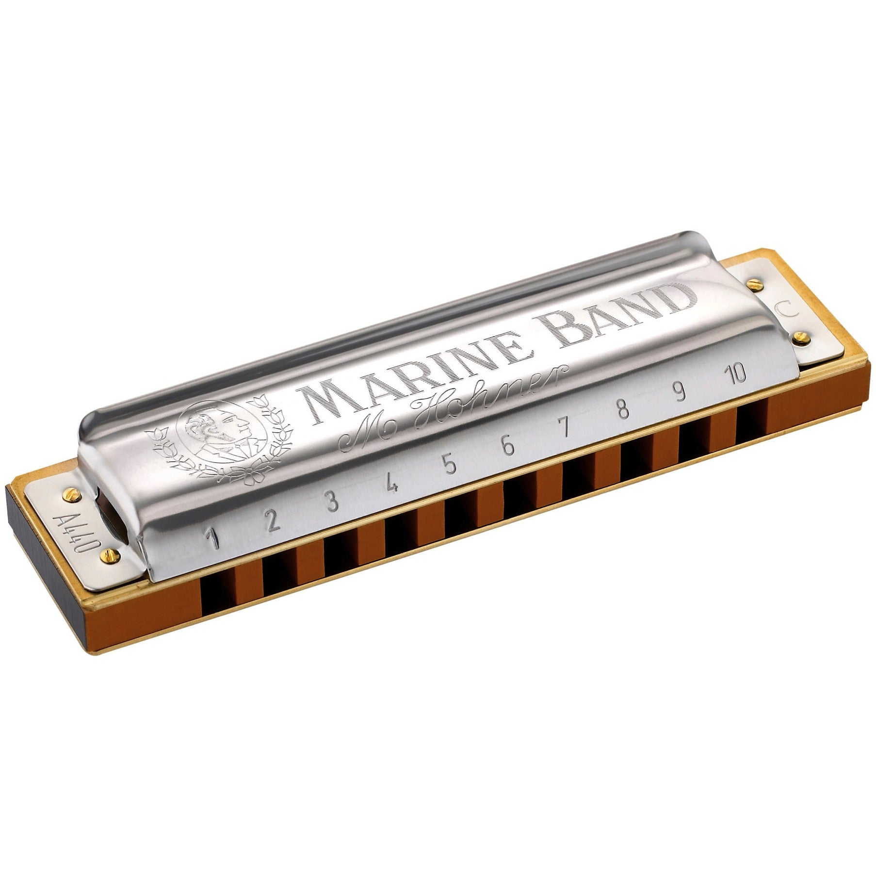 Hohner 1896 Marine Band Harmonica Key of F