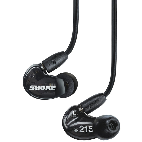 Shure SE215 Sound Isolating Earphones Black | Music Experience | Shop Online | South Africa