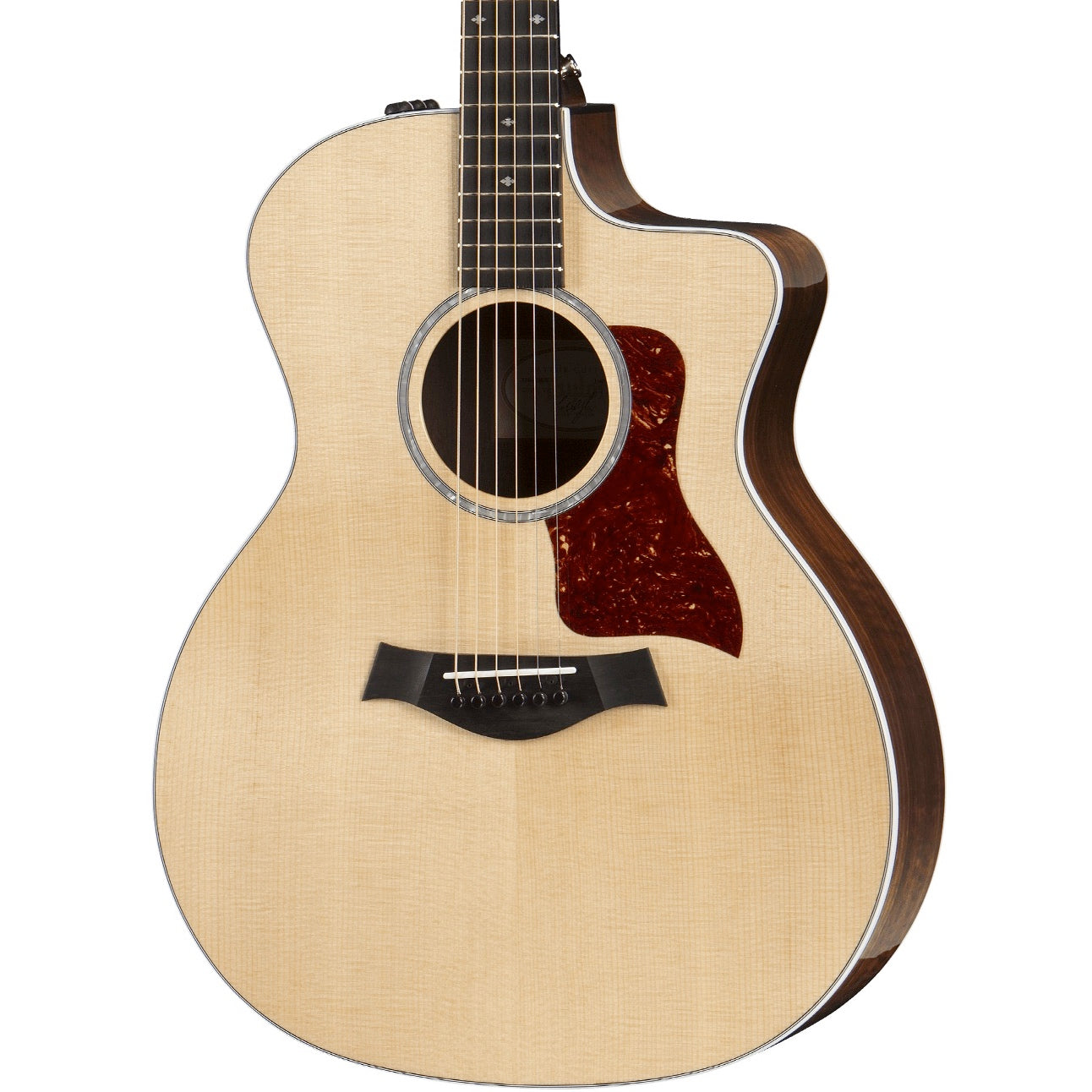 Taylor 214ce-CF DLX Grand Auditorium Natural Copafera | Music Experience | Shop Online | South Africa