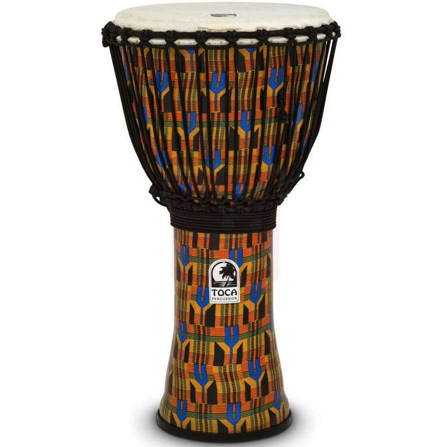 Toca SFDJ-12K Synergy Freestyle Djembe Rope Kente
