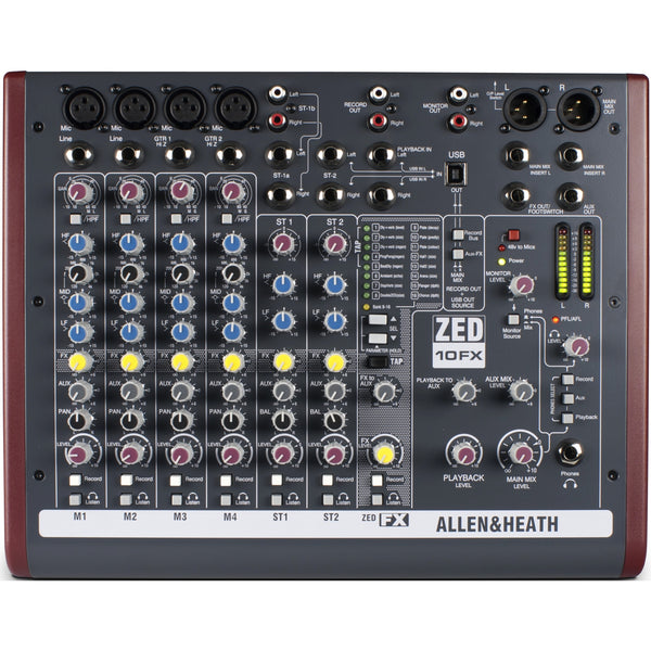Allen & Heath ZED-10FX Mixer | Music Experience | Shop Online | South Africa