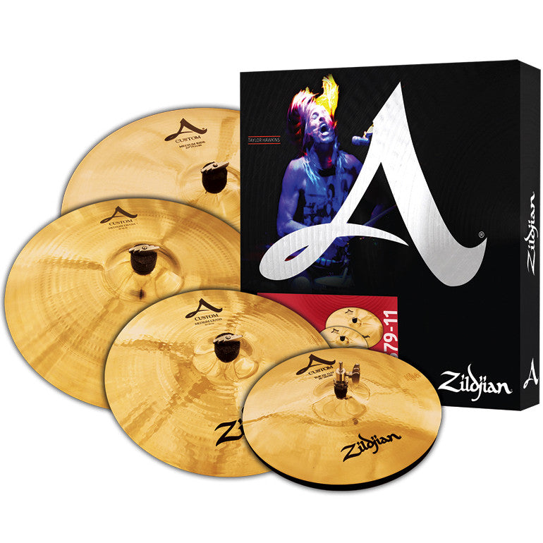Zildjian A Custom Cymbal Pack Box Set A20579-11