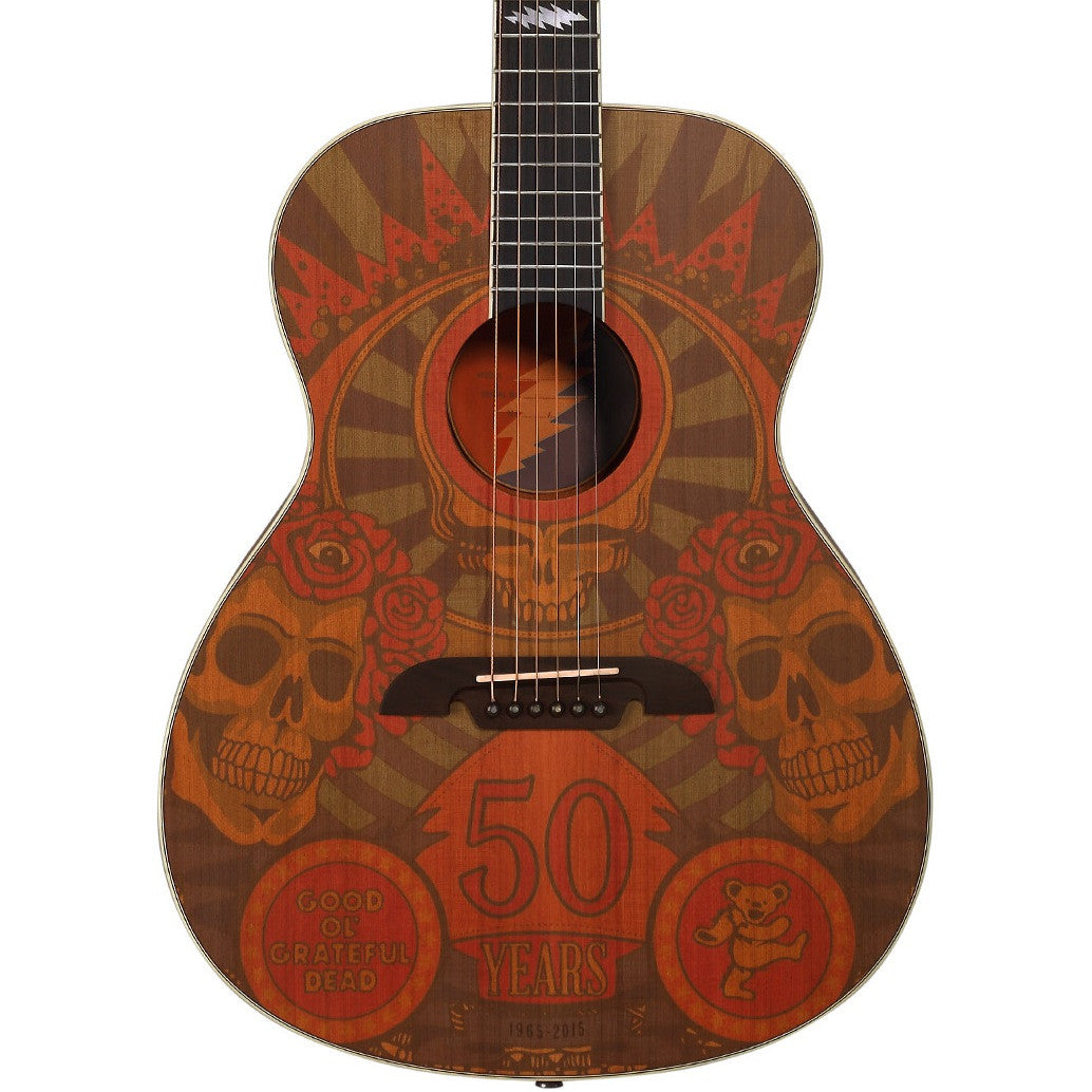 Alvarez AF65GD/M OM Grateful Dead 50th Anniversary Montage