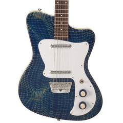 Danelectro '67 Heaven Alligator Blue