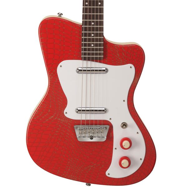 Danelectro '67 Heaven Alligator Red