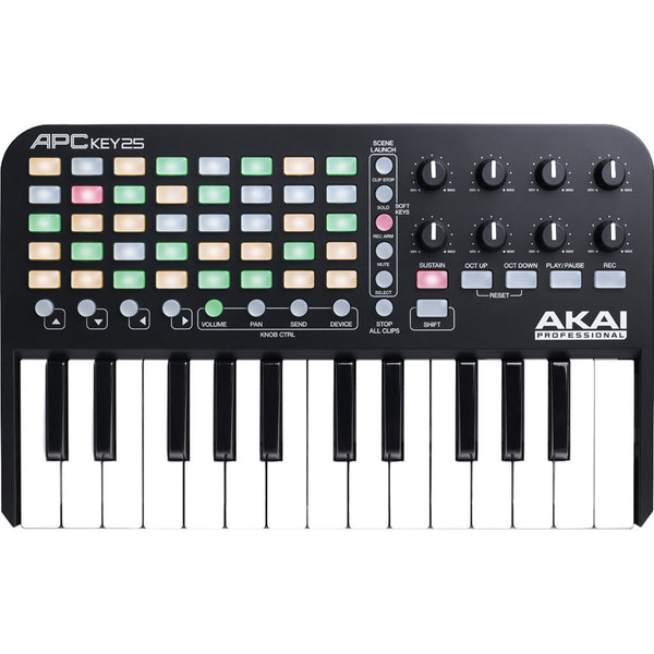 Akai Professional APC Key 25 Ableton Live Keyboard Controller | Music Experience | Shop Online | South Africa