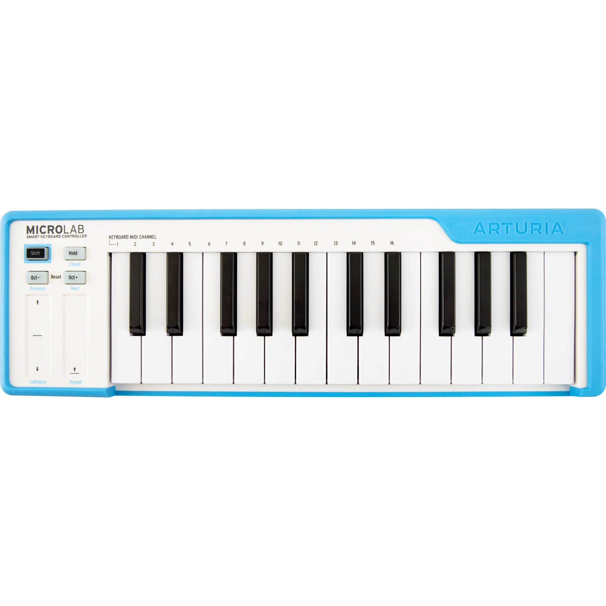 Arturia MicroLab 25-key Controller Blue | Music Experience | Shop Online | South Africa