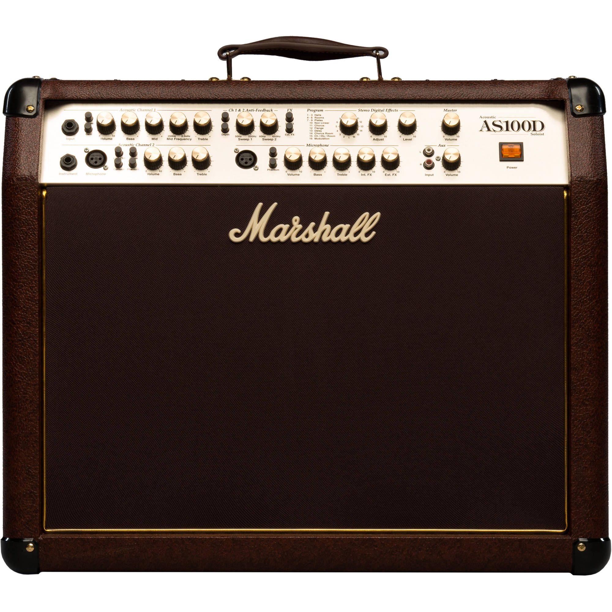"Marshall AS100D 50+50-watt 2x8"" Acoustic Combo 