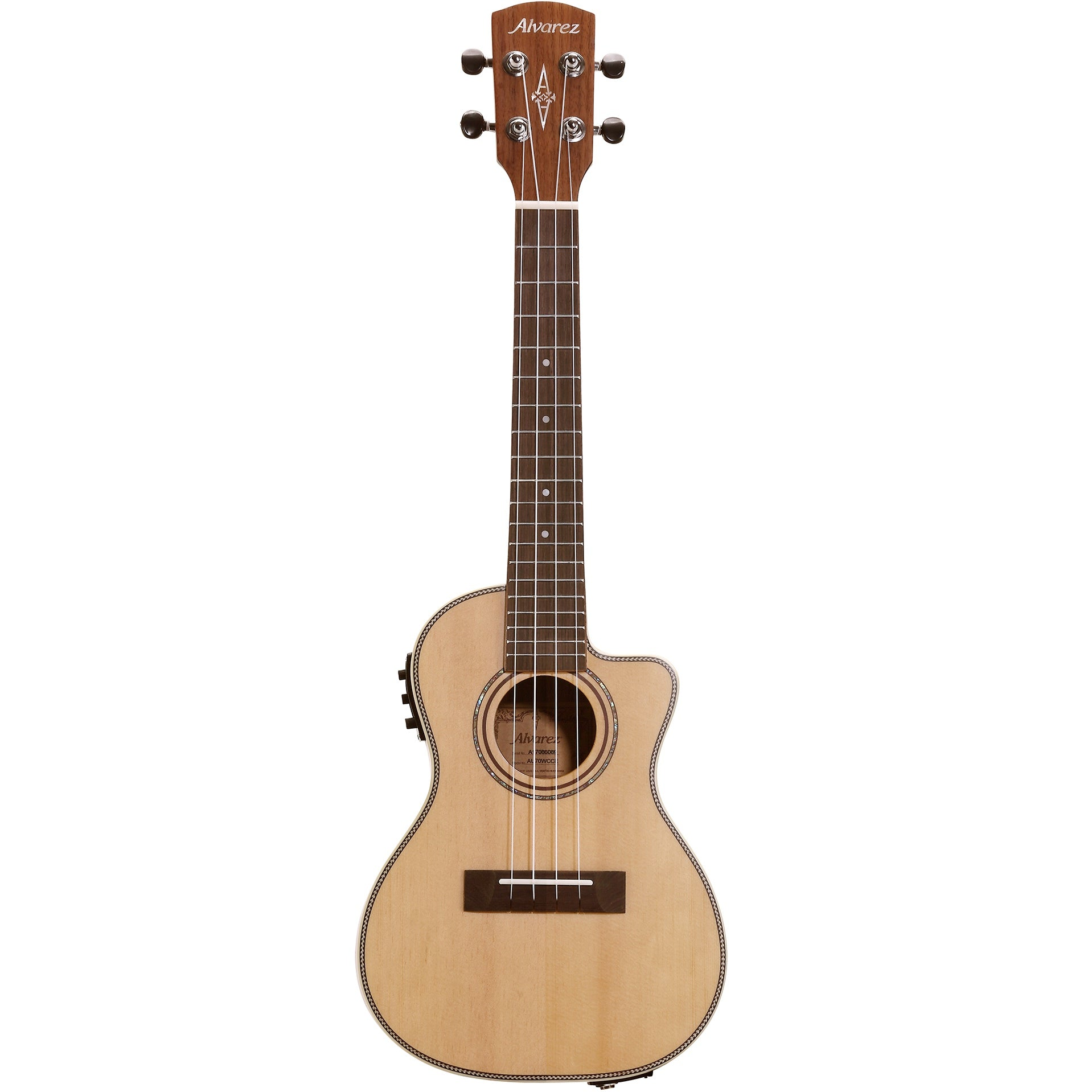 Alvarez AU70WCCE Artist Series Concert Electric Ukulele | Music Experience | Shop Online | South Africa