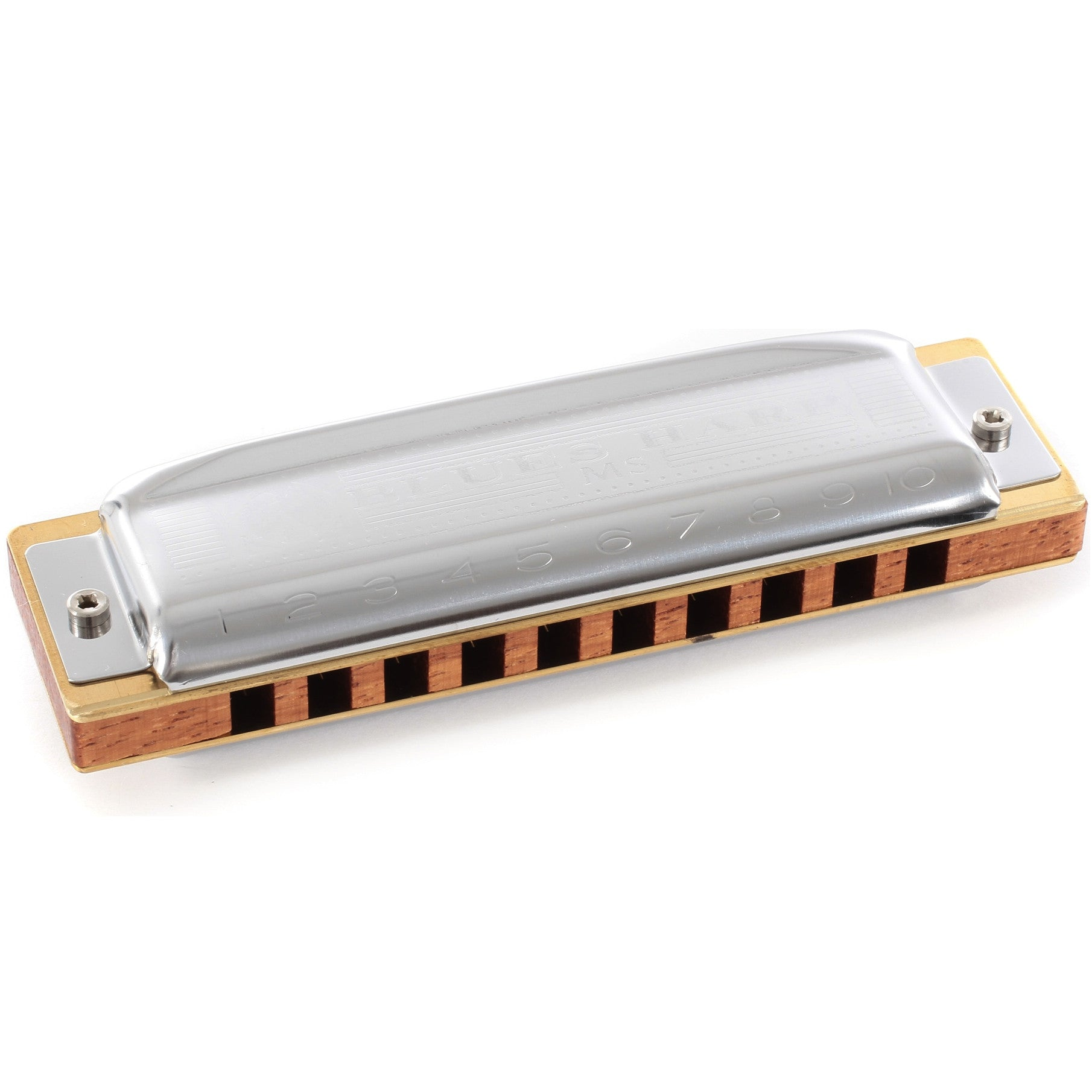 Hohner 532 Blues Harp MS-Series Harmonica in Key of A