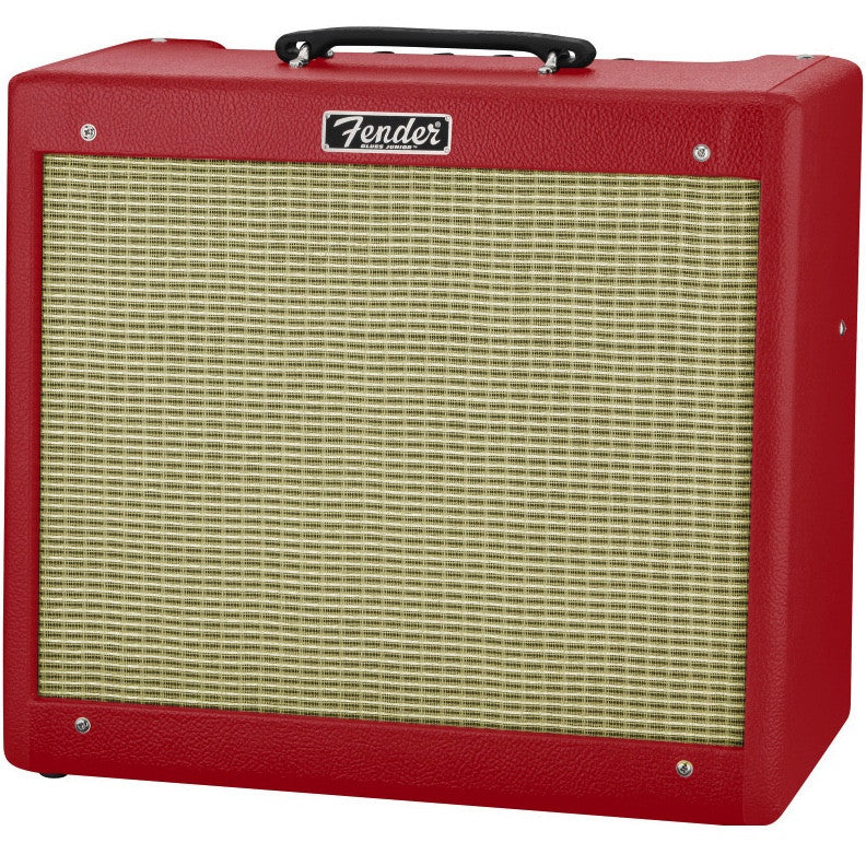 "Fender Blues Junior III 15-watt 1x12"" Tube Combo - British Red 