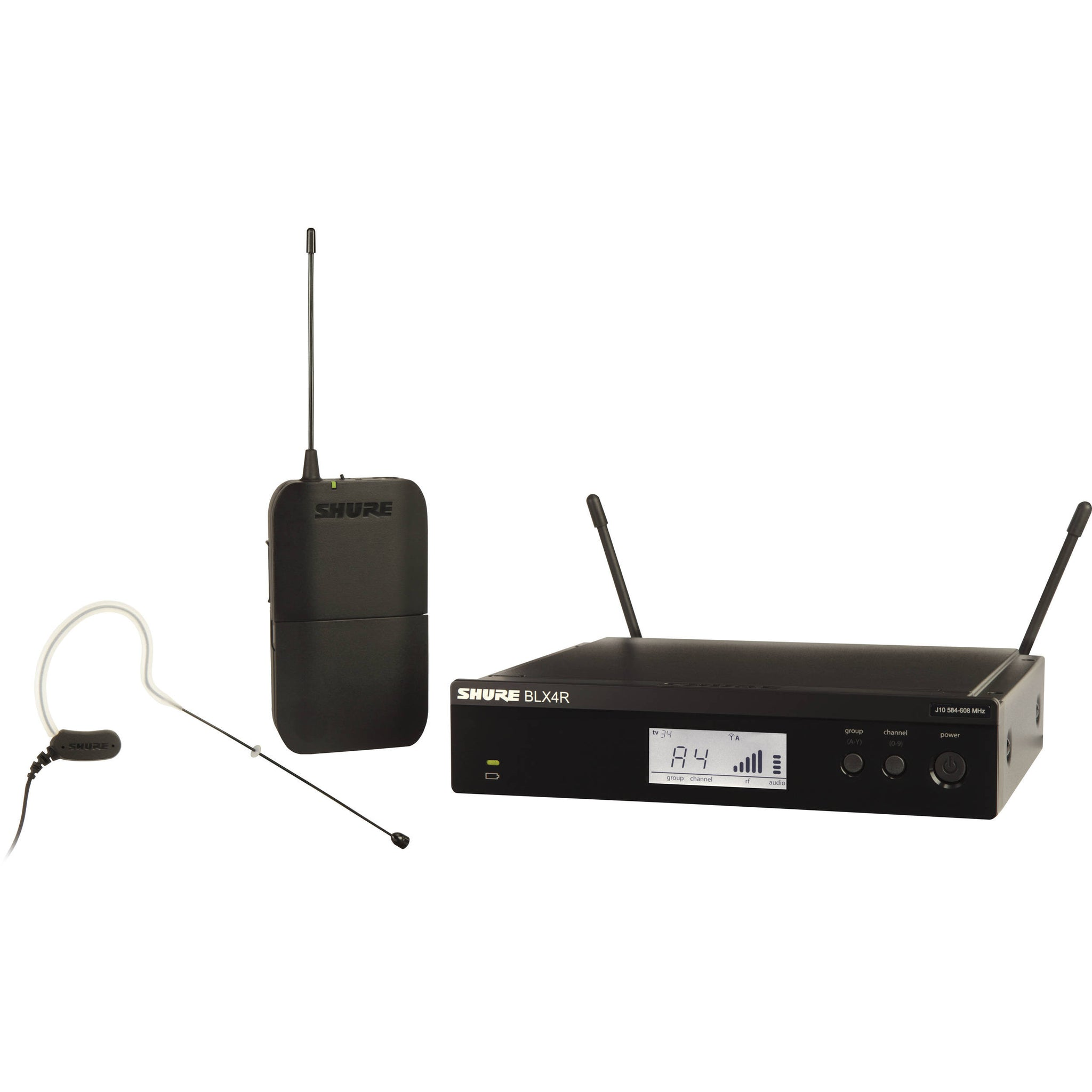 Shure BLX14R/MX53 Headworn Wireless System Black | Music Experience | Shop Online | South Africa