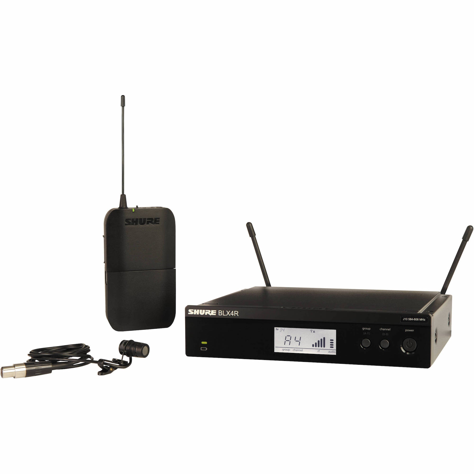 Shure BLX14R/W58 Lavalier Wireless System | Music Experience | Shop Online | South Africa