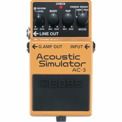 Boss AC-3 Acoustic Simulator | Music Experience | Shop Online | South Africa