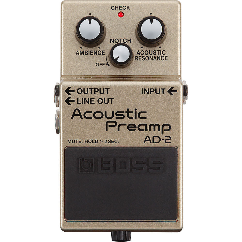 Boss AD-2 Acoustic Preamp | Music Experience | Shop Online | South Africa